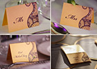 Asian & Chinese Fusion Wedding Name Cards