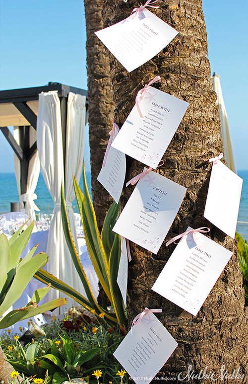 Beach Themed Wedding - Coastal Finds