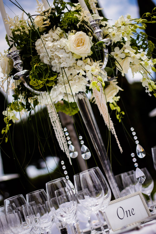 Elegant Wedding Table at the Marbella Club Hotel
