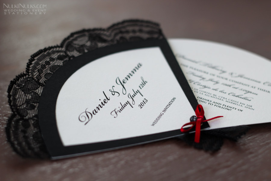Flamenco-styled Wedding Stationery Suite | Real Weddings ...