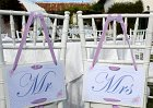 Lucky Charms Wedding Theme - Mr and Mrs Signs