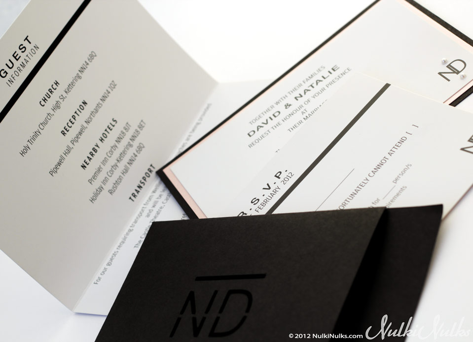 Modern and Elegant Wedding Invitations and Stationery Suite | Real ...
