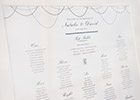 Modern and Elegant Wedding Table Plan