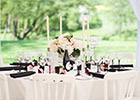 Modern and Elegant Wedding Tablescape
