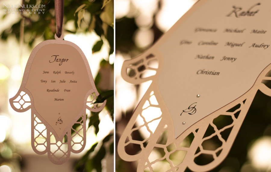 Moroccan wedding on the day stationery and accessories real moroccan style wedding on the day stationery and accessories home wedding program wedding table plan junglespirit Choice Image