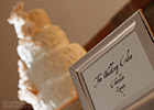 Moroccan-themed Wedding Cake with Signage