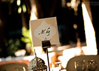 Moroccan-themed Wedding Table Name