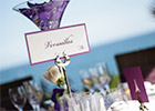 Wedding Table Name with Parisian twist