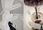 Periwinkle Blue Wedding - Place Cards