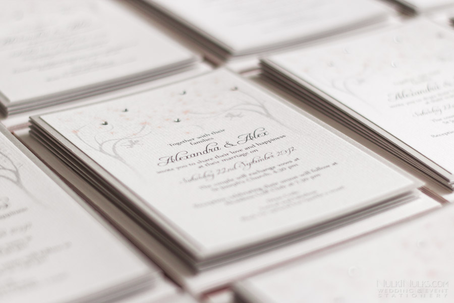 Spring and Summer Wedding Stationery Theme   Real Weddings ...