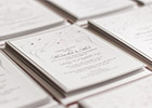 Wedding Invitations with Spring motif