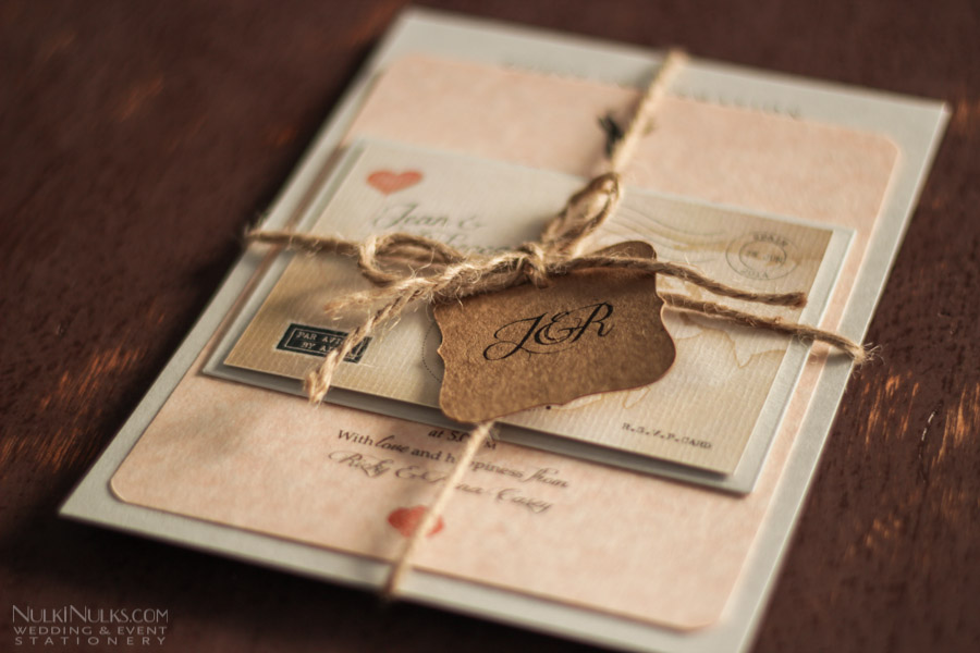 Love\'s Journey Vintage Map Travel Theme | Real Weddings Stationery ...