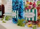 Wedding Favour Candy Bars: Candy Stripe - Turquoise