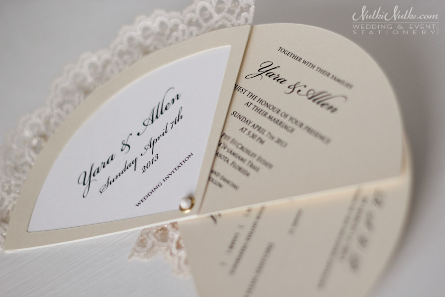 Parts Of Wedding Invitation: Real Weddings Stationery By